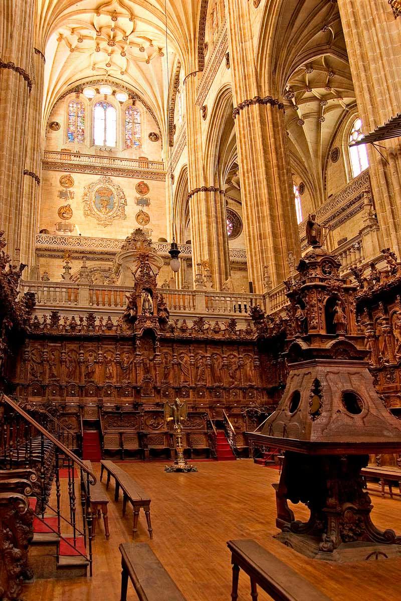 Coro. Catedral de Salamnca