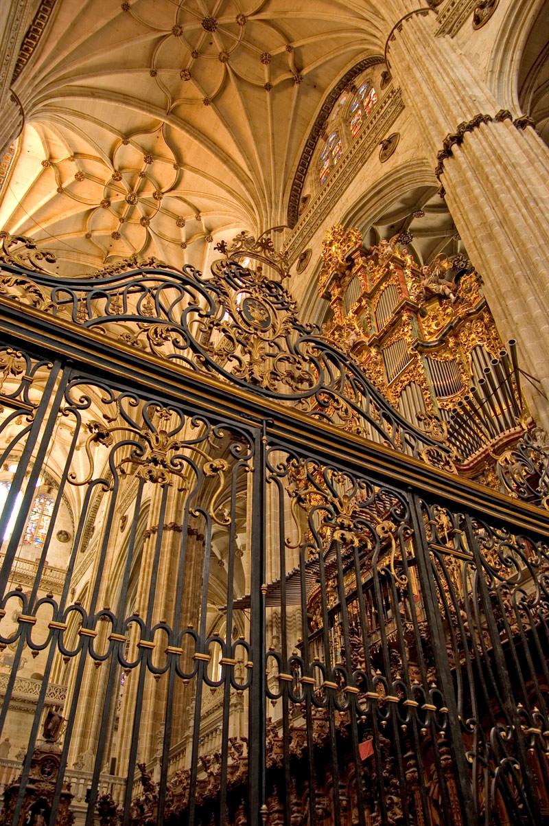 Interior Catedral Nueva de Salamanca