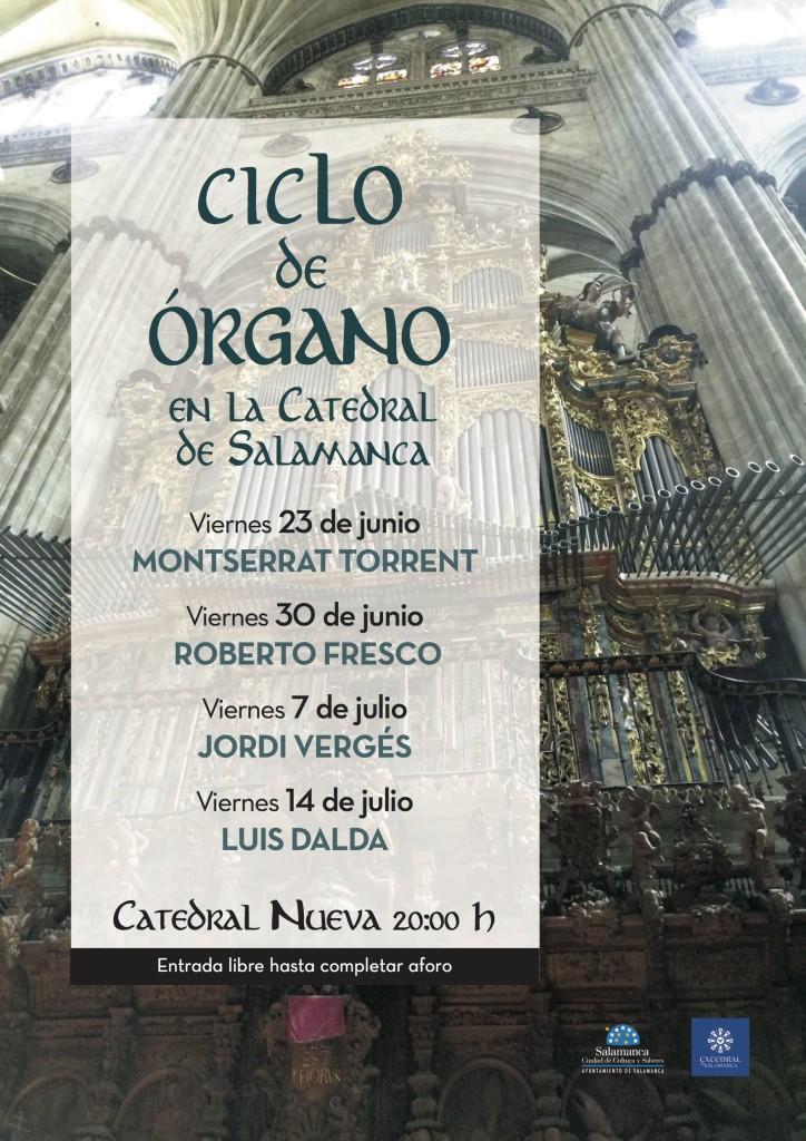 cartel Concierto Organo